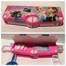 Disney Frozen with 5 Pop ups Cartoon Birthday Gift Pop-up Stationery Pencil Case