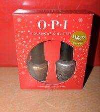 OPI Glamour & Glitter Full Size Bottle Nail Polish Set NEW IN BOX