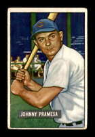 1951 Bowman #324 Johnny Pramesa RC G/VG X1421065