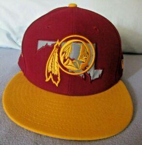 Washington Redskins New Era 59 Fifty Brand New 7 3/8 Fitted Baseball Cap Hat