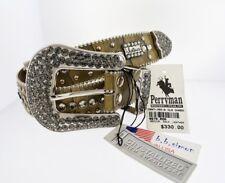 Extra Large B.B. Simon Horse Shoe with Swarovski Crystals Belt