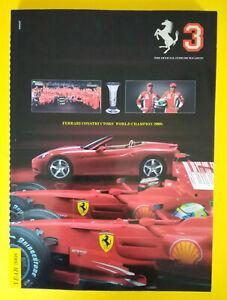 Libro Book Sportivo/Automobilismo FERRARI Magazine 3 Year 2008 auto formula 1