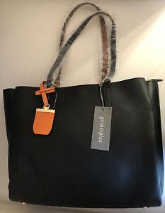 Principles Black avery Tote Bag Black