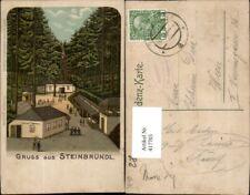 417703,Litho Gruß aus Steinbründl b. Krummnussbaum