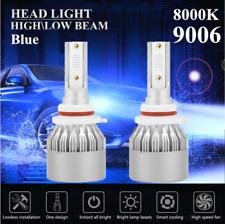 2019 CREE 9006 LED Headlight Kit HB3 1500W 210000LM High Beam 8000K Blue
