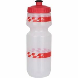 Specialized Big Mouth 24oz Bicycle Water Bottle Clear w/Red Racer & Red Lid