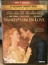 Shakespeare In Love -Gwenyth Paltrow New Dvd