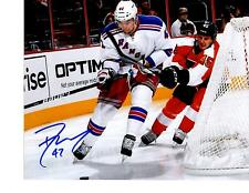 Dylan Mcilrath autographed signed NHL New York Rangers 8x10 photo