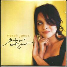 NORAH JONES thinking about you CARDED EUROPE PROMO DJ CD single SEALED USA seler