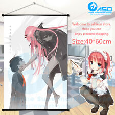 Anime Wall Scroll poster Darling in the FranXX   Zero Two Home Decor collection