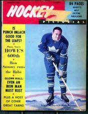 1- 8 1/2 x 11  Magazine  Called Hockey Pictoral Jan 1966 Mahovlich