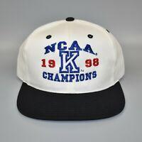 Kentucky Wildcats 1998 NCAA National Champions Vintage Snapback Cap Hat - NWT