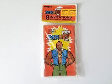 Mr T Party Invitations with Mailing Envelopes