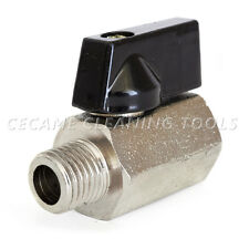 "1/4"" Mini Ball Valve Carpet Cleaning Extractor Auto Car F/M NPT 600 PSI"