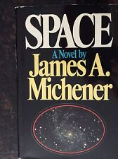 SPACE James Michener A.  Signed  1982