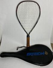 New listing Ekelon Toron Graphite Racquetball Racquet With Case