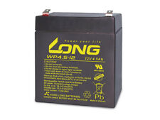 Blei-Akkumulator KUNG LONG WP4.5-12, 12 V-/4,5 Ah Bleiakku, 12V-/4,5Ah KUNG LONG