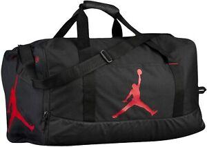 Nike Air Jordan Jumpman Men's Duffel Bag (Black/Red) Medium