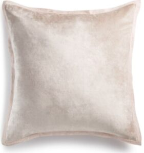 Hotel Collection Speckle EURO Pillowsham Pink Retail $185 New