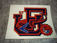 "VINTAG CIRCA 1960 UNIVERSITY OF FLORIDA GATORS ONE OF A KIND DECAL 6""x5"" STICKER"