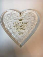 Our First Christmas Together 1999 Hallmark Keepsake Ornament New In Box