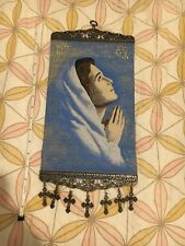 Our Lady Woven Religious tapestry wall hanging orthodox catholic icon Style 199
