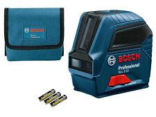 Bosch professional lignes laser Gil 2-10, portée 10 M en sac de protection