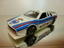 HOTWHEELS LANCIA RALLY 037 - MARTINI RACING - WHITE 1:25 - GOOD CONDITION