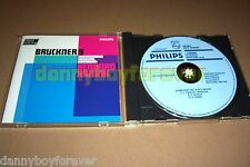 Bruckner Symphony No. 9 Haitink West Germany 1982 CD Blue Face Philips