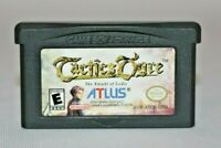 Tactics Ogre: The Knight of Lodis GBA AUTHENTIC & Tested! Great Condition! RARE!