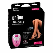 Braun SE 5280 Silk Epil 5 Epilator With Ice Glove, Pink