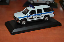 Rare !! Russian Police Moscow Chevrolet Suburban Custom Made 1/43