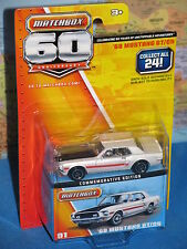 MATCHBOX 60 ANNIVERSARY 1968 FORD MUSTANG #1/24 ***BRAND NEW & RARE***