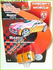 2002 '02 DODGE RAZOR CONCEPT AND MUSCLE DIECAST RACING CHAMPIONS RC