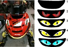 Polaris edge rmk switchback xc pro x sled snowmobile Headlight Decal Sticker 2