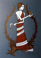 Amanda Palmer stampa d'arte di Michael Cowell-POSTER