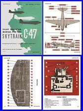 C47 Skytrain Dakota DC3 - Pilot Training Manual on CD