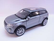 27625 | Welly Land Rover Range Rover Evoque anthrazidModellauto m. Antrieb 1:40