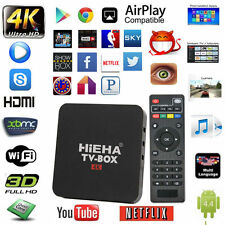 US Hieha 4K Android 6.0 Smart TV BOX KOD17.1 Quad Core 8GB HD WIFI Media Player
