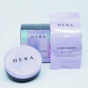 HERA UV Mist Cushion Cover #21 Vanilla 15g x 2ea SPF50 PA+++ Foundation K-Beauty