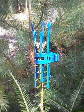 Reh und Rotwild Terminaltriebschutz Verbissschutz Tanne = 500 Stück in Blau