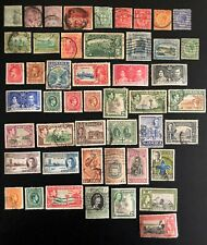 JAMAICA NICE LOT OF 133 DIFFERENT STAMPS CLASSIC TO MODERN