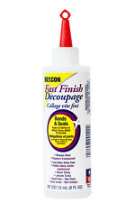 Beacon Fast Finish Decoupage bonds, coats and seals in one easy step.