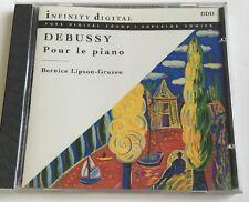 Debussy: Pour le piano / Berenice Lipson-Gruzen. Mint Disc. Music Cd.