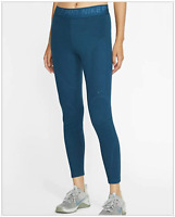 NWT Nike PRO Hyperwarm Women's Velour Tights BV5562-347 Multiple Sizes