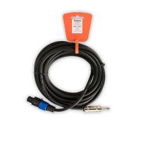 Podium by Goldwood TSSP25 Male Speakon to TRS 25 Foot Speaker Cable 12 Gauge