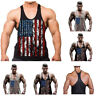 Gym Men Bodybuilding Tank Top Muscle Stringer Athletic Fittness Shirt Clothes.