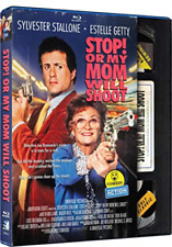 Stop or My Mom Will Shoot (sylvester Stallone) Retro VHS Blu-ray