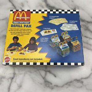 McDonald's Happy Meal Magic Refill Pak Mattel #10656 Sealed