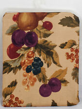 "Fabric Tablecloth Autumn Fall Leaves Fruit Thanksgiving Decor Design 60"" x 102"""
